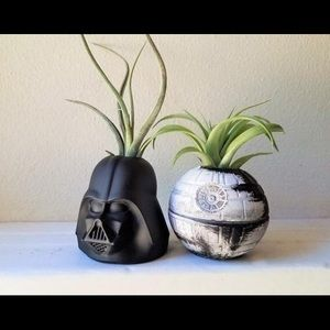 Hand-Made Star Wars Succulent Planters